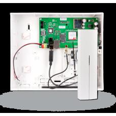 Охранно-пожарная контрольная панель со встроенным коммуникатором стандарта 3G/LAN и радиомодулем JA-101KR-LAN-3G