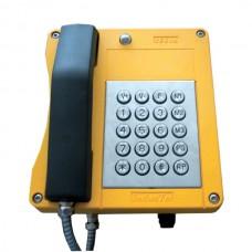 Всепогодный телефонный аппарат с номеронабирателем