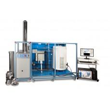 Система горячего водоснабжения и учебное устройство обогрева, управляемая с ПК