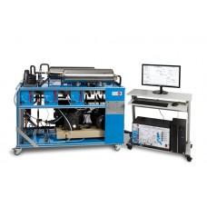 Контролируемое ПК устройство изучения двухступенчатого компрессора