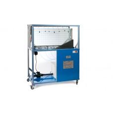 Резервуар модели грунта/воды