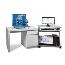 Управляемая компьютером установка массопередачи жидкости и коэффициент диффузии.