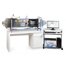 Управляемая компьютером сушилка для поддонов, с управлением SCADA и PID