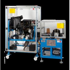 Управляемая ПК испытетльная установка четырехцилиндровых двигателей мощностью 75кВТ