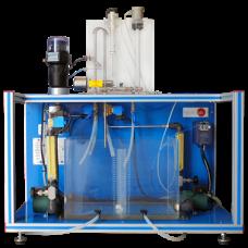 Система Управления процессом (c электронным клапаном + пневматическим клапаном + контроллером скорости):